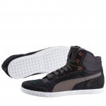 Дамски кецове Puma Glyde Court Fur Wn's black- зимни