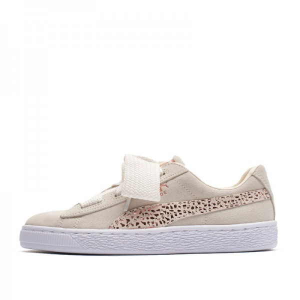 Дамски кецове Puma Suede Heart Animal, Beige