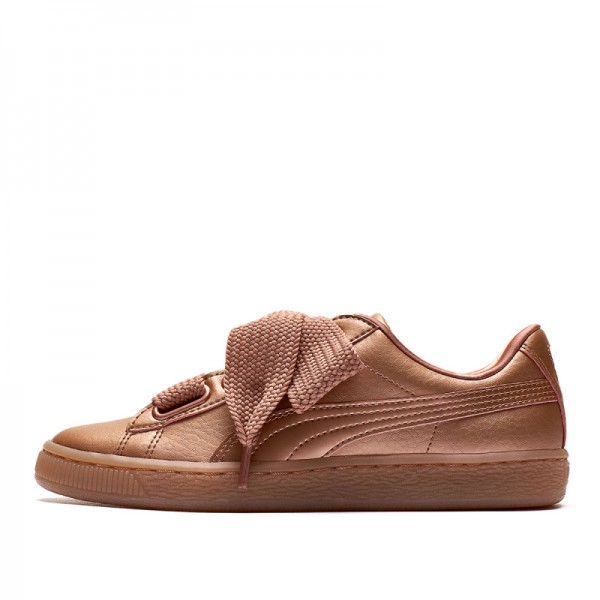 Дамски кецове Puma Basket Heart Copper Wn's