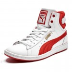 Дамски кецове Puma First Round Super Leather Wn's white