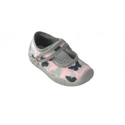 Детски пантофи ARS Infant, Grey/Butterflys, W