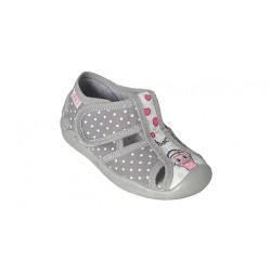Детски пантофи ARS Infant, Grey/Lamb