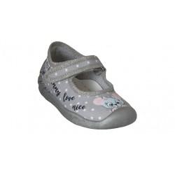 Детски пантофи ARS Infant, Grey/Mice