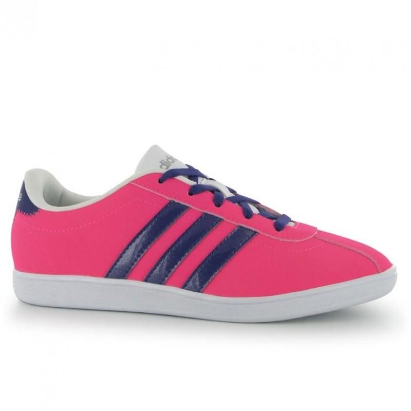 fa0d2d80330 Дамски маратонки Adidas VL Court, Pink/Purple