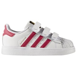 Детски маратонки Adidas Superstar, Infant, White/Pink