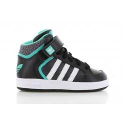 Детски кецове Adidas Varial Mid, Infant, Black/Green