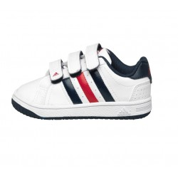 Детски маратонки Adidas M20 Court, Infant, White/Navy
