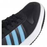 Детски кецове Adidas Hoops Mid, Junior, Black/Blue
