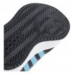 Детски кецове Adidas Hoops Mid, Junior, Black/Blue