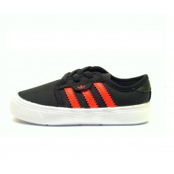 Детски кецове Adidas Originals Seeley I, Black/SolRed