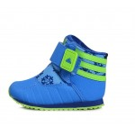 Детски боти Adidas Zambat, Blue/Green