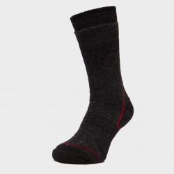 Мъжки туристически чорапи Brasher Trekker Plus, Wool, Black/Red