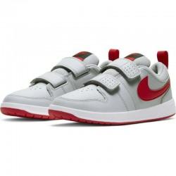 Детски маратонки Nike Pico, Kids, Grey/Red, Leather