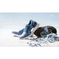 Adidas прави маратонки от рециклирана пластмаса