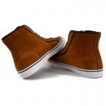 Мъжки кецове Puma Streetballer Mid, Winter, Brown, Leather
