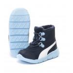 Детски боти Puma BAO Velcro, Navy/Blue