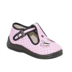 Детски пантофи Zetpol Infant, Daria, Pink/Butterflies
