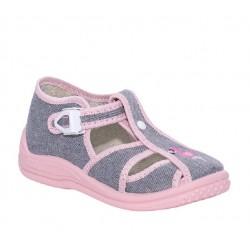 Детски сандали Zetpol Infant, Tosia, Grey/Pink